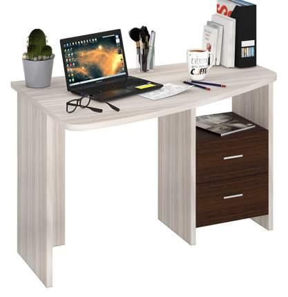 Письменный стол Мэрдэс Домино Лайт СКЛ-Крл 120 MER_SKL-Krl120_KSH_LEV, карамель