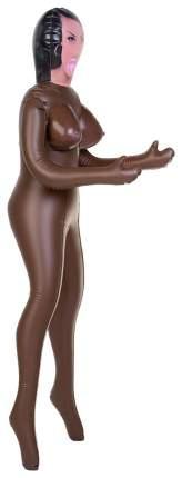 Надувная секс-кукла ToyFa темнокожая с 3 отверстиями