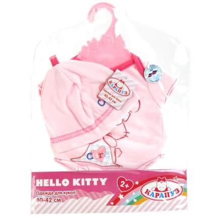 Комплект одежды для кукол 40 42 см Карапуз OTF-BLC03-RU