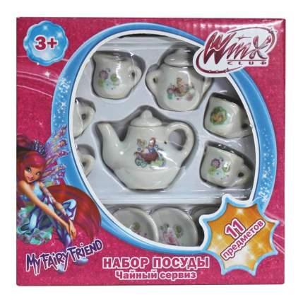 Набор посуды Winx 11 предметов фарфор,
