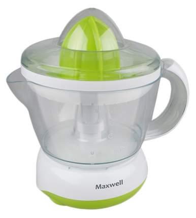Соковыжималка для цитрусовых Maxwell MW-1107G white/green