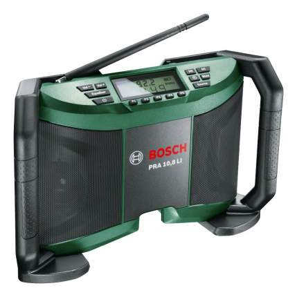 Аккумуляторный радиоприемник Bosch PRA 10,8 LI 06039B1000 БЕЗ АККУМУЛЯТОРА И З/У
