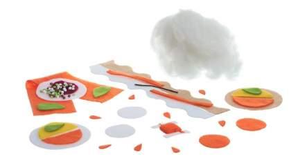 Набор для творчества Bondibon мк шьем сладости из фетра. пирожное апельсин