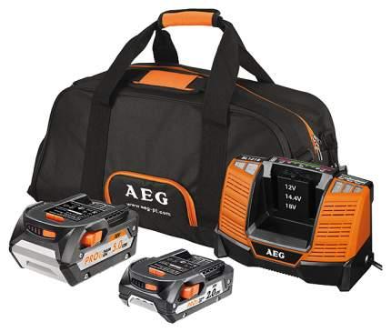 Аккумулятор и зарядное устройство AEG SETLL18X0BL