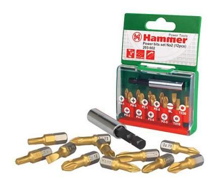 Набор бит для дрелей, шуруповертов Hammer 30736