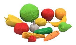 Набор НОРДПЛАСТ фрукты, овощи 13 предметов в сетке