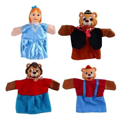 Игровой набор Жирафики Кукольный театр Три медведя 4 куклы 68315