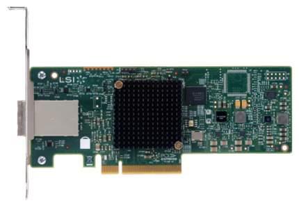 PCI-e RAID контроллер Intel RS3GC008 PCI-E x8 12Gb SAS/SATA