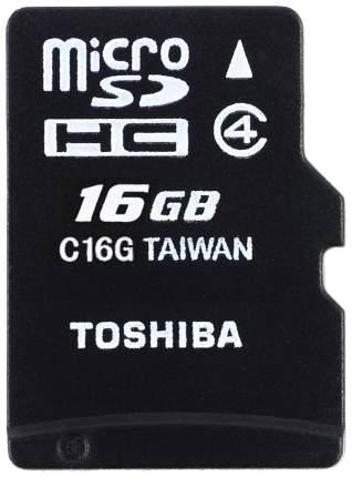 Карта памяти Toshiba Micro SDHC THN-M102K0160M2 16GB