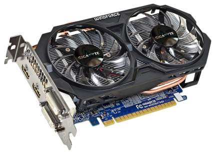 Видеокарта GIGABYTE GeForce GTX 750 Ti (GV-N75TOC-2GI)