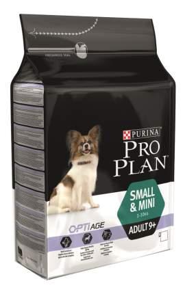 Сухой корм для собак PRO PLAN OptiAge Small&Mini Adult 9+, для мелких пород, курица, 0,7кг