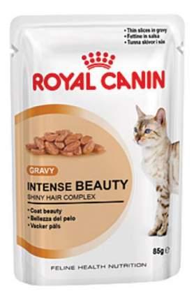 Влажный корм для кошек ROYAL CANIN Intense Beauty, мясо, 85г