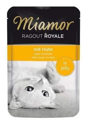 Влажный корм для кошек Miamor Королевское рагу, курица в желе, 100г