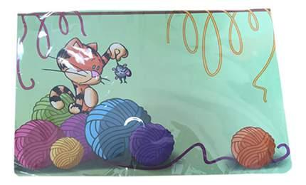 Коврик под миску для животных MAJOR Mouse detective полипропилен 28х43см