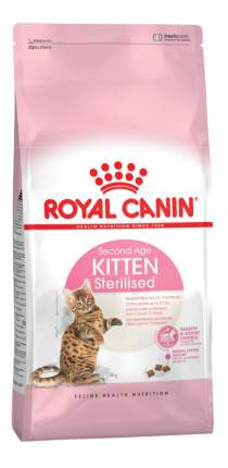 Сухой корм для котят ROYAL CANIN Kitten Sterilised, для стерилизованных, 4кг