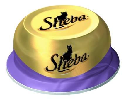 Консервы для кошек Sheba Classic коктейль из тунца и отборных креветок,6 шт по 80г