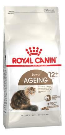 Сухой корм для кошек ROYAL CANIN Senior Ageing 12+, для пожилых, домашняя птица, 2кг