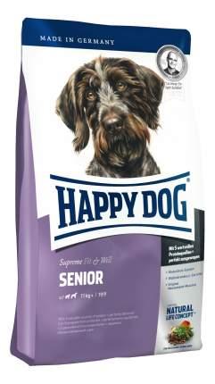 Сухой корм для собак Happy Dog Supreme Fit & Well Senior, для пожилых, домашняя птица, 4кг