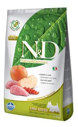 Сухой корм для собак Farmina N&D Mini, для мелких пород, кабан и яблоко, 0,8кг