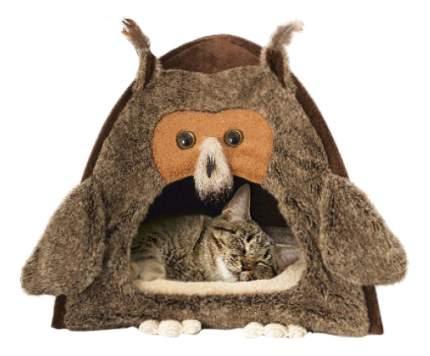 """Домик для кошек GiGwi """"Сова"""" размер 38х38х40см"""