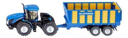 Спецтехника Siku Трактор с прицепом