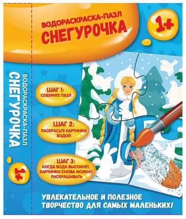 Раскраска Феникс Водораскраска-Пазл Снегурочка