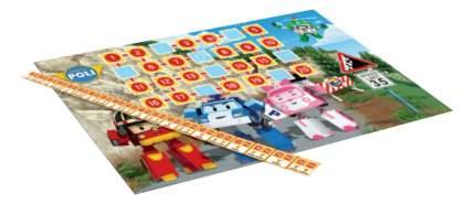 Семейная настольная игра Оригами Robocar. Отважные спасатели