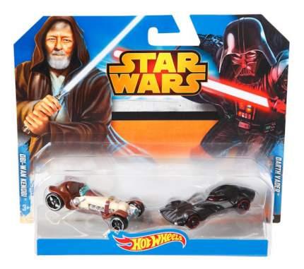 Набор пластиковых машинок Hot Wheels Star Wars