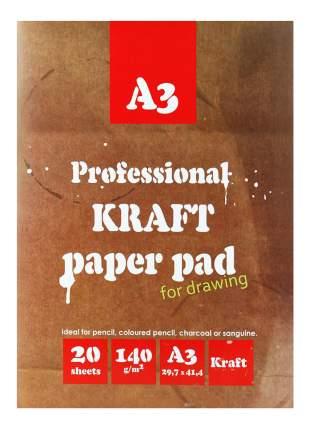 Папка для рисования Kroyter Для рисования и эскизов 20 шт.
