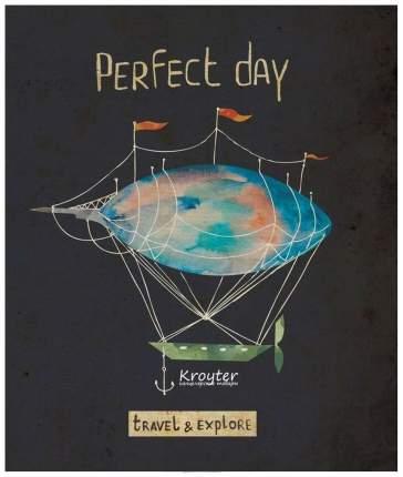 Тетрадь Общая Kroyter Perfect Day 48 Листов, Клетка