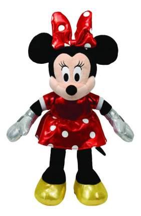 Мягкая игрушка TY Disney Sparkle Minnie в красном платье, 20 см звуковые эффекты