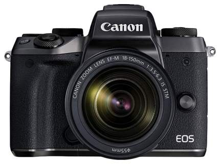 Зеркальный фотоаппарат Canon EOS M5 EF-M18-150 Black