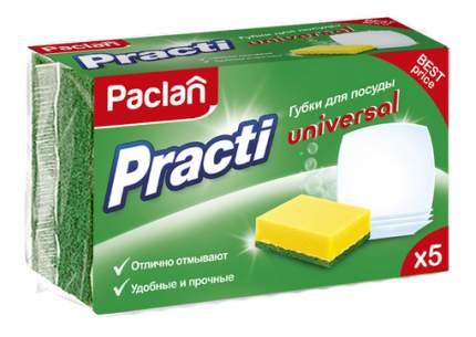 Губка для посуды Paclan Practi Universal 5 шт