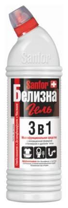 Пятновыводитель Sanfor белизна гель 3в1 с хлором 1000 мл