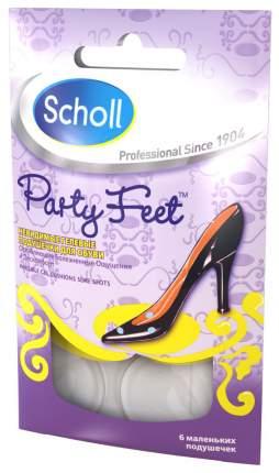 Гелевые подушечки Scholl party feet для обуви 6 шт.