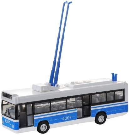 Модель городского транспорта Технопарк Троллейбус