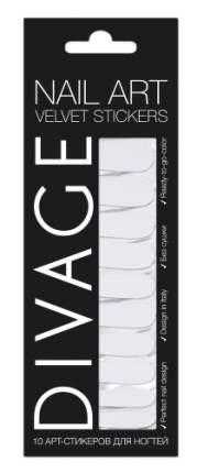 Наклейки для ногтей DIVAGE Nail Art Velvet Stickers №37