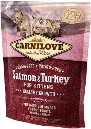 Сухой корм для котят Carnilove Fresh meat, лосось, индейка, 0,4кг