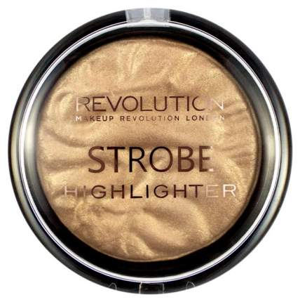 Хайлайтер для лица Makeup Revolution Strobe Highlighter Gold Addict 7,5 г