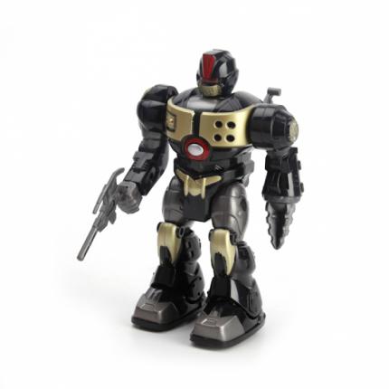 Робот B576345-R Играем Вместе на батарейках, свет, звук, двигается, 15x10x22 см,