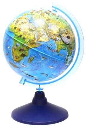 Глобус Globen Евро Ке012100207 Зоогеографический детский 210 мм