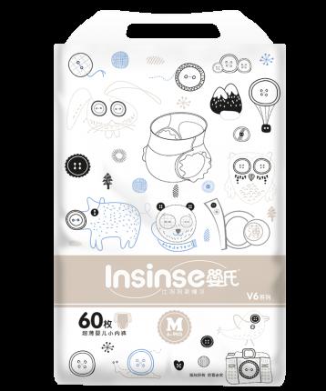 Подгузники INSINSE V6 трусики (6-9кг) 60 шт. супертонкие M (4)