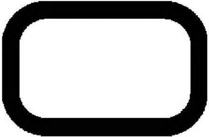 Прокладка выхлопной системы ajusa 13169800