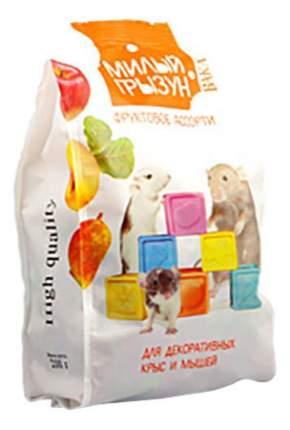 Корм для крыс, мышей Вака Милый грызун, фруктовое ассорти 0.2 кг 1 шт