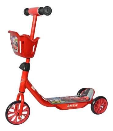 Самокат трехколесный 1 Toy Disney Тачки Т59977 красный