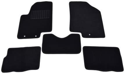 Коврики салона текстильные SV-Design для KIA soul 2008-> (черные)
