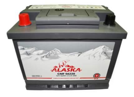 Аккумулятор автомобильный автомобильный ALASKA 8808240010597 62 Ач