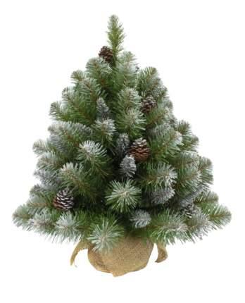 Ель искусственная Triumph Tree императрица с шишками в мешочке заснеженная 60 см