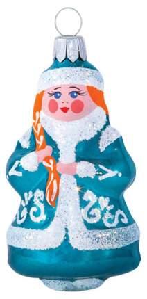 Елочная игрушка Елочка Снегурка-1 C1314 7,2 см 1 шт.