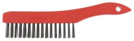 Щетка металлическая MATRIX 3-х рядная 74813